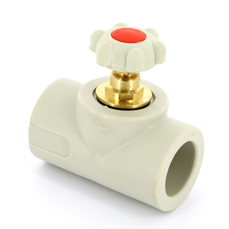 Купить Вентиль сварка полипропиленовый FV-PLAST 40 304040, Чехия, полипропилен PP-R, Тип 3