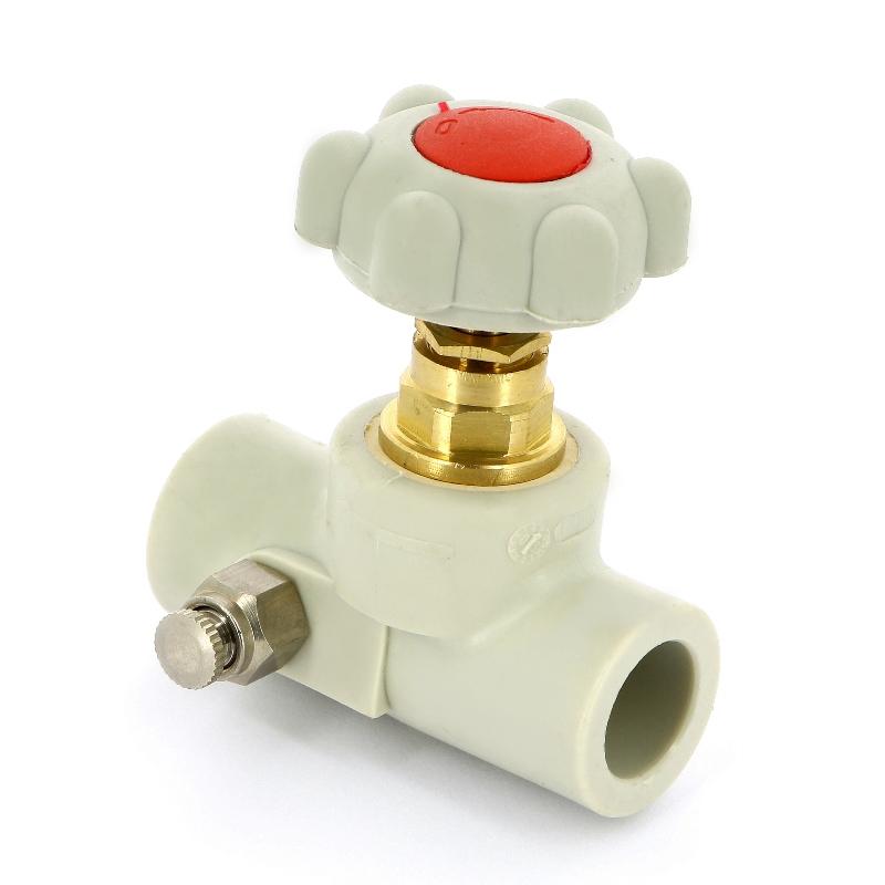 Купить Вентиль сварка со сливным клапаном полипропиленовый FV-PLAST 20 305020, Чехия, полипропилен PP-R, Тип 3