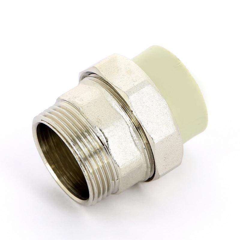 Купить Муфта сварка-Н с разъемным соединением FV-PLAST 32х1'1/4 237332, Чехия, полипропилен PP-R, Тип 3